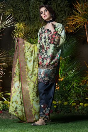 Summer Lawn Marjaan Collection - 12