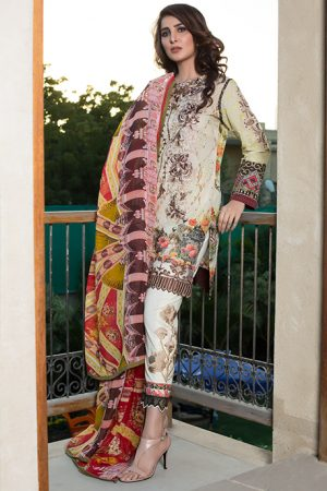 Summer Lawn Marjaan Collection - 09