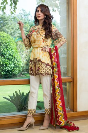 Summer Lawn Marjaan Collection - 08