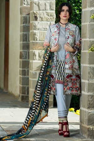 Summer Lawn Marjaan Collection - 02