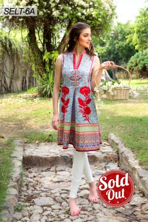 Sifona Embroidered Lawn Tunic-6A