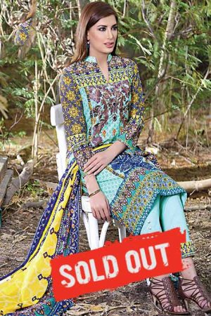 Sifona Embroidered Lawn -1A