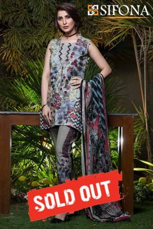 Summer Lawn Marjaan Collection - 05