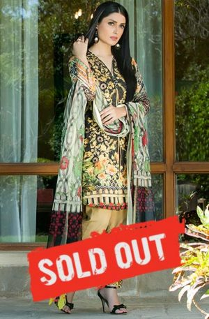 Summer Lawn Marjaan Collection - 01