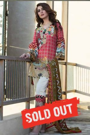 Summer Lawn Marjaan Collection - 07