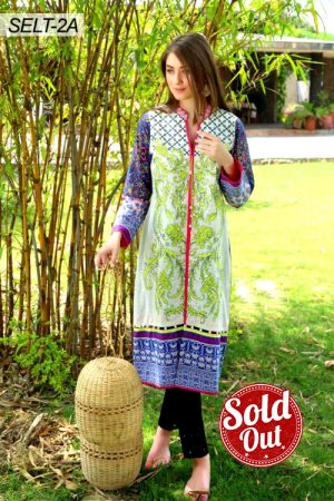 Sifona Embroidered Lawn Tunic-2A