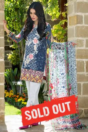 Summer Lawn Marjaan Collection - 06