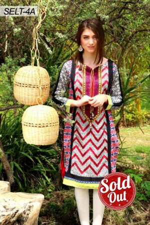 Sifona Embroidered Lawn Tunic-4A